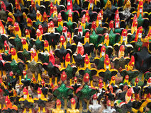 Ειδώλια κοκκόρων στην Ταϊλάνδη Στοκ φωτογραφία με δικαίωμα ελεύθερης χρήσης