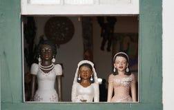 Ειδώλια σε ένα παράθυρο Στοκ φωτογραφίες με δικαίωμα ελεύθερης χρήσης