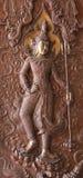 Ειδώλια της Indra με το vajra Στοκ εικόνα με δικαίωμα ελεύθερης χρήσης