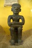 Ειδώλιο αντιγράφου σε ένα μουσείο, Santa Elena, Ισημερινός Στοκ Φωτογραφία