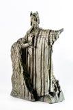 Ειδώλιο Αρχόντων των δαχτυλιδιών που παρουσιάζει σε Isildur το Argonath, βασιλιάς Gondor Στοκ Φωτογραφίες