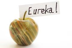 Ειδώλιο του μήλου φυσική πέτρα onyx Στοκ εικόνες με δικαίωμα ελεύθερης χρήσης