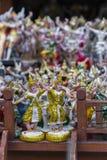 ειδώλιο του παραδοσιακού ταϊλανδικού εθιμοτυπικού χορευτή/του χορευτή της Ταϊλάνδης Στοκ φωτογραφία με δικαίωμα ελεύθερης χρήσης