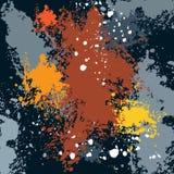 λεκέδες, λεκέδες μελανιού, πτώσεις χρωμάτων ελεύθερη απεικόνιση δικαιώματος