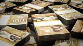 Εκατομμύριο καναδικά δολάρια διανυσματική απεικόνιση