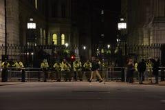 Εκατομμύρισσα μάσκα Μάρτιος στο Λονδίνο Στοκ φωτογραφία με δικαίωμα ελεύθερης χρήσης