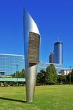 Εκατονταετές ολυμπιακό πάρκο, Ατλάντα, Ηνωμένες Πολιτείες στοκ φωτογραφία με δικαίωμα ελεύθερης χρήσης