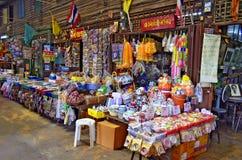 Εκατονταετηρίδας αγορά Suan Khlong κοντά στη Μπανγκόκ, Ταϊλάνδη Στοκ Εικόνες