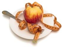 εκατοστόμετρο μήλων Στοκ εικόνες με δικαίωμα ελεύθερης χρήσης