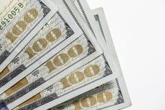 Εκατό 100 δολάριο Bill Στοκ εικόνες με δικαίωμα ελεύθερης χρήσης