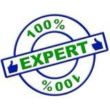 Εκατό ειδικής τοις εκατό τελειότητας μέσων εντελώς και δεξιότητες διανυσματική απεικόνιση