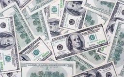 Εκατό ΗΠΑ dolars Στοκ φωτογραφίες με δικαίωμα ελεύθερης χρήσης