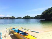 Εκατό νησιά Φιλιππίνες Στοκ φωτογραφία με δικαίωμα ελεύθερης χρήσης