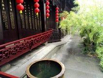 Εκατό - χρονών huqing κινεζική γωνία ιατρικής στοκ εικόνα