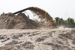 εκβάθυνση αναρρόφησης άμμου Στοκ Φωτογραφία