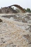 εκβάθυνση αναρρόφησης άμμου Στοκ φωτογραφία με δικαίωμα ελεύθερης χρήσης