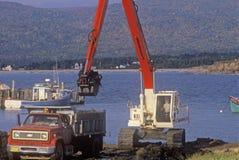 Εκβάθυνση του λιμανιού στη Νέα Σκοτία Στοκ εικόνα με δικαίωμα ελεύθερης χρήσης