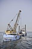 εκβαθύνοντας σκάφος Στοκ φωτογραφία με δικαίωμα ελεύθερης χρήσης