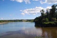 Εκβολές του ποταμού ελεύθερων πολιτών Στοκ φωτογραφία με δικαίωμα ελεύθερης χρήσης