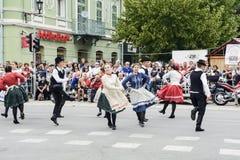 Εκδήλωση λαογραφίας οδών στη Σερβία Στοκ φωτογραφία με δικαίωμα ελεύθερης χρήσης