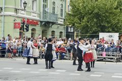 Εκδήλωση λαογραφίας οδών Στοκ εικόνες με δικαίωμα ελεύθερης χρήσης