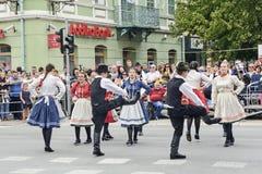 Εκδήλωση λαογραφίας οδών Στοκ φωτογραφία με δικαίωμα ελεύθερης χρήσης