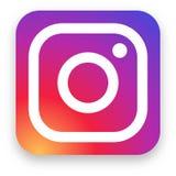 Εκδοτική διανυσματική απεικόνιση λογότυπων Instagram απεικόνιση αποθεμάτων