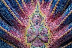 Εκδοτικός ναός του Βούδα με το μωσαϊκό Στοκ Εικόνες