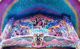 Εκδοτικός ναός του Βούδα με το μωσαϊκό Στοκ φωτογραφία με δικαίωμα ελεύθερης χρήσης
