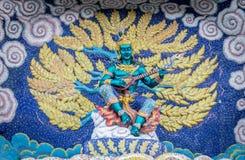 Εκδοτικός ναός του Βούδα με το μωσαϊκό Στοκ Εικόνα