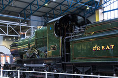 Εκθέματα στο εθνικό μουσείο σιδηροδρόμων στην Υόρκη, Γιορκσάιρ Αγγλία Στοκ Φωτογραφία