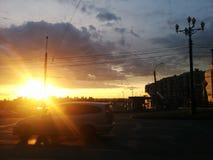 εκθαμβωτικός ήλιος Στοκ εικόνες με δικαίωμα ελεύθερης χρήσης