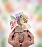 Εκθειασμός των χρημάτων Στοκ εικόνα με δικαίωμα ελεύθερης χρήσης