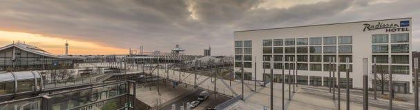 Εκθεσιακός χώρος του Αννόβερου Στοκ Φωτογραφίες