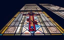 λεκιασμένο γυαλί παράθυρο Στοκ Φωτογραφίες