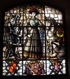 λεκιασμένο γυαλί παράθυρο στοκ φωτογραφίες με δικαίωμα ελεύθερης χρήσης