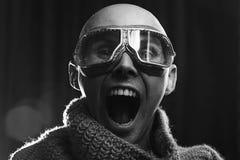 Εκκεντρικό αρσενικό πορτρέτο Στοκ Φωτογραφία