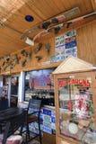 εκκεντρικό κατάστημα καφέ Στοκ Εικόνα
