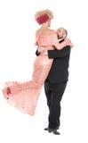 Εκκεντρικό παχύ άτομο σε ένα σμόκιν και όμορφη κυρία ένα βράδυ Δ Στοκ φωτογραφία με δικαίωμα ελεύθερης χρήσης