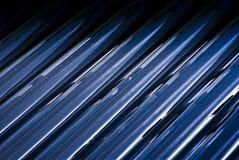 Εκκενωθε'ντες σωλήνες γυαλιού από τον ηλιακό θερμοσίφωνα Στοκ Εικόνες