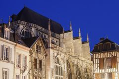 Εκκλησία Άγιος-Jean-du-Marche σε Troyes Στοκ εικόνες με δικαίωμα ελεύθερης χρήσης