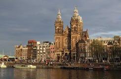 Εκκλησία Άγιου Βασίλη στο Άμστερνταμ, Ολλανδία Στοκ Φωτογραφίες