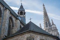 Εκκλησία Αγίου Γερτρούδη ` s στο Λουβαίν, Βέλγιο Στοκ Εικόνα