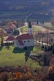 Εκκλησία Αγίου Anthony της Πάδοβας σε Bucica, Κροατία Στοκ Εικόνες