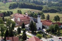 Εκκλησία Αγίου Anthony της Πάδοβας σε Lasinja, Κροατία Στοκ εικόνες με δικαίωμα ελεύθερης χρήσης
