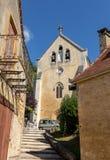 Εκκλησία Αγίου Catherine σε Carlux Κοιλάδα Dordogne, Aquitaine, Γαλλία στοκ εικόνα