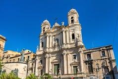 Εκκλησία Αγίου Francis στην Κατάνια, Σικελία Στοκ Φωτογραφίες