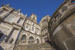 Εκκλησία Αγίου Francis στο Πόρτο, Πορτογαλία στοκ φωτογραφία με δικαίωμα ελεύθερης χρήσης