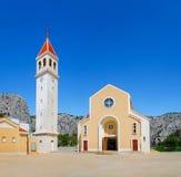 Εκκλησία Αγίου Peter σε Omis Κροατία Στοκ Εικόνες
