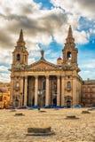 Εκκλησία Αγίου Publius σε Valletta, Μάλτα στοκ εικόνες με δικαίωμα ελεύθερης χρήσης